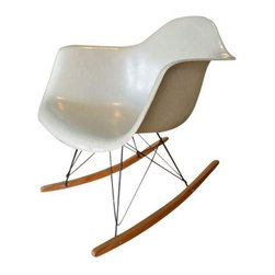 Original Herman Miller Eames Fiberglass Rocker - $2,500 Est. Retail - $1,999 on -