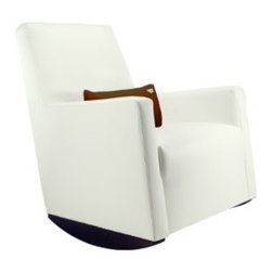 Alto Rocker - With a clean minimal silhouette, this rocking chair basically blends in with its surroundings. A nice pick for the true minimalist.