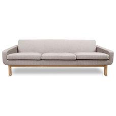 Modern Sofas Richmond Beige 3-Seat Couch