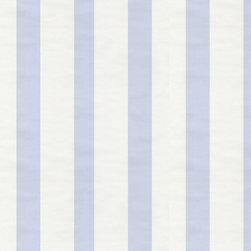 Wallpaper Worldwide - Hero - Stripes Wallpaper, White, Dark Blue - Material: Paper
