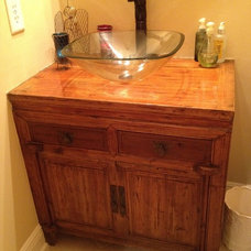 Eclectic Bathroom Vanities And Sink Consoles by Charles Phillips Antiques and Architecturals