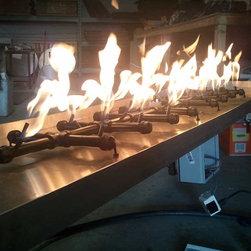 Custom Fire Pit Burners -