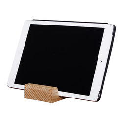 Hatch Hub - iPad Holder - Your friendly Block Head iPad holder. Complete the set with the rest of the block head family