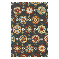 """Loloi Rugs - Hand Hooked Summerton Transitional Rug SUMRSRS19CFSQ - 2'-3"""" X 3'-9"""" Hearth - Lay a new foundation to your favorite room with a hand-crafted rug from the Summerton Collection. Hand-hooked in China of 100% polyester, these spirited rugs earn notice through clean design and quality craftsmanship. And whether you re relaxing after a long day or just enjoying a lazy Sunday, the perfectly plush feel is a real treat for your feet. With shapes available in rectangles, small rounds, hearths, and runners, Summerton has a rug - or two - for any room."""