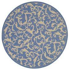 Mediterranean Carpet Flooring by Area Rug Styles