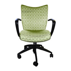 9 to 5 Seating - Desk Chairs for Women, Serena & Lily Fabric - Serena & Lily, Spade Clover