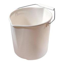 Rubbermaid - Rubbermaid 11-Quart Neat N' Tidy Bucket (6-Pack) (2963TPAQUAM) - Rubbermaid 2963TPAQUAM 11 Qt Neat n' Tidy Bucket