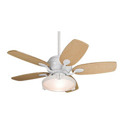"""Casa Vieja - Contemporary 43"""" Casa Vieja Casa Optima Maple Ceiling Fan with Remote - A beautiful ceiling fan design with a cool and modern spin. From Casa Vieja the design features a white finish motor paired with maple venner blades. The 3-speed reversible motor 14 degree blade pitch and 43"""" blade span help to efficently circulate the air. Light kit has frosted glass. Comes with a 4 1/2"""" downrod and remote control. Dual mountable design. Light kit takes two 60 watt bulbs (included) and is 13"""" wide 4"""" high.  White finish motor.  Maple blades.  Dual mountable design.  Includes a remote control.  Light kit takes two 40 watt bulbs (included).  Light kit 13"""" wide 4"""" Long.  14 degree blade pitch.  43"""" blade span.  Fan height 12.01"""" blade to ceiling.  4 1/2"""" downrod included.  Canopy 5.16"""" wide and 3.15"""" long."""