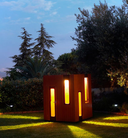 Modern Outdoor Playhouses by smartplayhouse.com