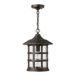 Hinkley Lighting - Hinkley Lighting 1802OZ Freeport Bronze Outdoor Hanging Lantern - Hinkley Lighting 1802OZ Freeport Bronze Outdoor Hanging Lantern