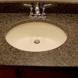 Maple Vanity Amp Countertop West Salem Oh We Updated