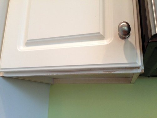 Help yucky peeling melting thermofoil cabinets for Can you paint thermofoil kitchen cabinets
