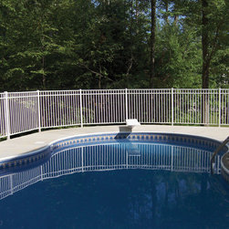 Sterling Aluminum Fence (Residential Fencing) - WHAT: Contemporary Style Fence