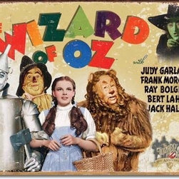 Tin Sign : Wizard of Oz: 70th Anniversary - Tin Sign : Wizard of Oz: 70th Anniversary by  Unknown. 16.0 X 12.5 inches. Give your home the that nostalgic feel with Tin Signs! You will find old style signs for your Bathroom, Living Room, Garage and even Bar Tin Signs.  Please check the exact shipping times on the item details. Actual item does not have any watermarks. All items ship fully insured, largest selection, and high end frame.