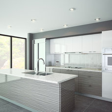Contemporary Kitchen Cabinetry by Mei Kitchens