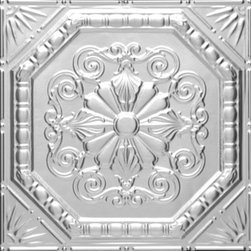 "Decorative Ceiling Tiles - Robinson's Octogonal  Medley - Aluminum Ceiling Tile - 24""x24"" - #2447 - Discover hundreds of options of faux tin ceiling tiles when you shop . With an amazing selection of decorative ceiling tiles and a ton of color and finish options, we have the perfect faux tin ceiling tiles at affordable prices for any home or budget."