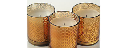 Contemporary Candles by Flameless Candles