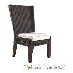 Padma's Plantation Terrace Outdoor Dining Chair - Padma's Plantation Terrace Outdoor Dining Chair