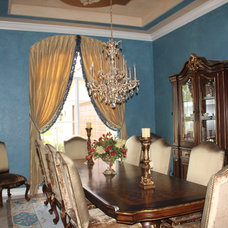 Traditional Dining Room by Edgewater Design LLC