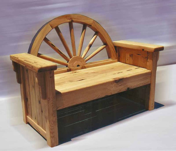 Traditional Indoor Benches by SCOTTSDALE ART FACTORY