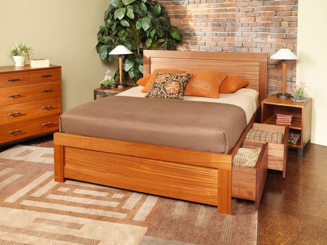 Contemporary Beds by McKinnon Furniture