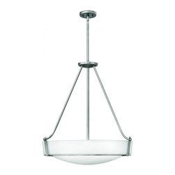 Hinkley - Hinkley Hathaway 4-Light Antique Nickel Up Pendant - 3224AN-LED - This 4-Light Up Pendant is part of the Hathaway collection and has a Nickel finish.