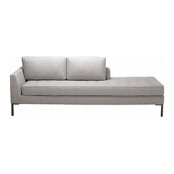 Blu Dot - Blu Dot | Paramount Daybed - The Paramount Daybed is as comfortable as your favorite pair of blue jeans and as versatile as the standby little black  dress. This classic daybed sofa can go anywhere in style, but don't be surprised if it steals the limelight in its own quiet  way.  Available in select upholstery color options.