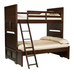Legacy Classic Kids - Legacy Classic Kids Benchmark Twin Over Full Bunk Bed - Legacy Classic Kids Benchmark Twin Over Full Bunk Bed