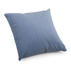 ZUO - Lizzy Outdoor Pillow - Small - The Lizzy Pillow adds a splash of country blue wherever you need it most. Water resistant fabric makes it perfect for the outdoors. Toss by the fire pit or under a tree with a blanket for a picnic. Comes in small or large.