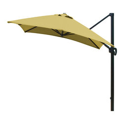 California Umbrella - 10-Feet Square Sunbrella Fabric Cantilever Umbrella with Multi Positon Tilt - California Umbrella, Inc. has been producing high quality patio umbrellas and frames for over 50-year . The California Umbrella trademark is immediately recognized for its standard in engineering and innovation among all brands in the United States. As a leader in the industry, they strive to provide you with products and service that will satisfy even the most demanding consumers.