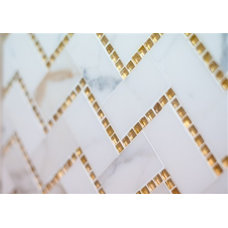 Contemporary Tile by Mission Stone Tile