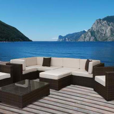 Contemporary Outdoor Lounge Sets by Home Furniture and Patio