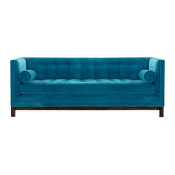 MADE IN USA - Delano Sofa - Dimensions: 86''W x 31''H x 38''D
