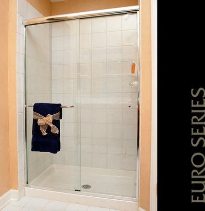 Contemporary Bathroom by Creative AGI Shower Door & Mirror Co