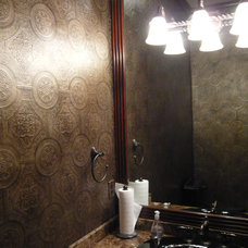 Traditional Powder Room by Decorative Wall Designs