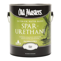 Old Masters - Old Masters 1 Gallon Gloss Water-Based Spar Urethane (2 Pack) (74401) - Old Masters 74401 1 Gallon Gloss Water-Based Spar Urethane (2 Pack)