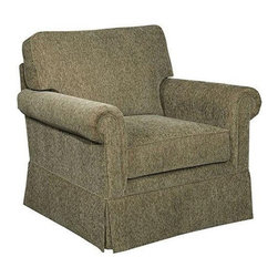 Broyhill Furniture - Audrey Chair - 3762-0Q1 - Fabric color: Green