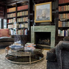 Traditional Family Room by BROWN DAVIS INTERIORS, INC.
