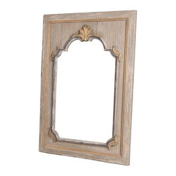 "BSEID - Dining Room Mirror by BSEID - A stunning detailed arch mirror is meticulously centered within a solid pine molded frame. This distinctly designed mirror will add glamour and light to your room. (SAR) 43"" wide x 3"" deep x 62"" high"