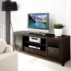 contemporary media storage by Abbyson Living