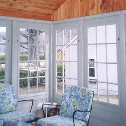 Combination Doors - 3 Season Room - painted - interior  facing - http://combinationdoor.com/