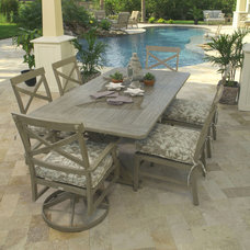 Tropical Patio by authenTEAK Outdoor Living