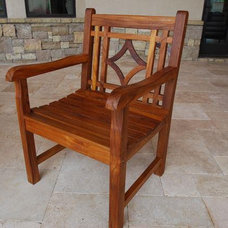 Traditional Outdoor Chairs by Essex House Fine Cabinets