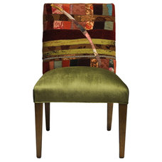 Eclectic Living Room Chairs by Sara Palacios Designs and Custom Furniture