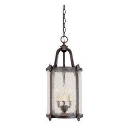 World Imports - World Imports WI1663 Old Sturbridge Outdoor / Indoor 3 Light Hanging Lantern - Traditional / Classic Old Sturbridge Outdoor / Indoor 3 Light Hanging LanternWorld Imports Features: