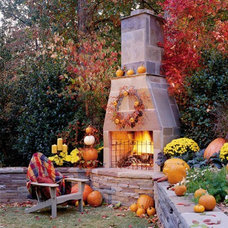 Outdoor Spaces / Outdoor fireplaces!