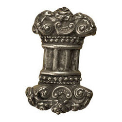Anne at Home Hardware - Full Column Knob, Antique Bronze - Made in the USA - Anne at Home customized cabinet hardware enables even the most discriminating homeowner to achieve the look of their dreams.  Because Anne at Home cabinet hardware is designed to meet your preferences, it may take up to 3-4 weeks to arrive at your door. But don't let that stop you - having customized Anne at Home cabinet knobs and pulls are well worth the wait!   - Available in many finishes.
