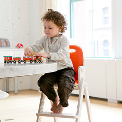Svan Baby to Booster High Chair - Our Baby-to-Booster Bentwood High Chair is the perfect piece of furniture for a growing tot.