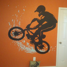 Traditional Kids by Decorative Wall Designs