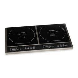 Berghoff - BergHOFF Double Touch Screen Induction Cook Top - This compact induction unit takes up little space but is quite powerful. Its multiple-protection design ensures safety and reliability against overheat, over-currents or over-voltage input.